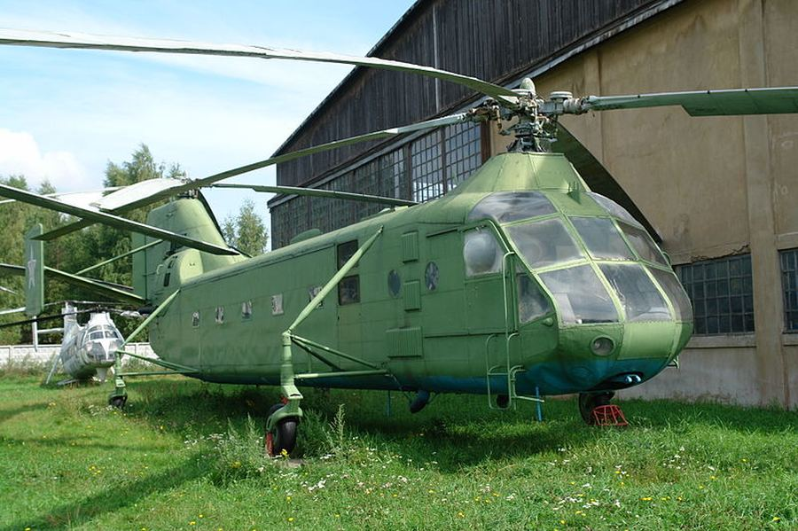 Як-24 — двухвинтовой вертолёт