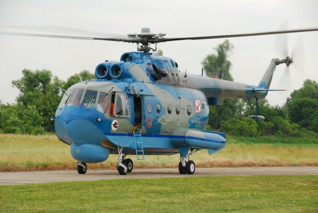 Ми-14 - вертолет-амфибия, способный нести глубинные ядерные бомбы